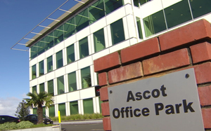 Exterior of Ascot Park where Hantec NZ is located.
