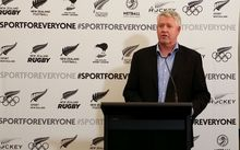 NZRU chief executive Steven Tew.