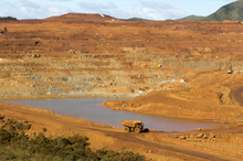 Nickel mine in New Caledonia
