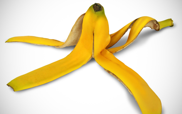 Banana peel, file photo