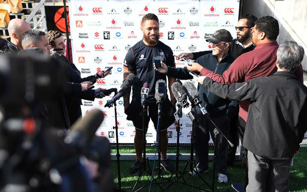 Manu Vatuvei feels as if he's playing his first game for the Warriors.