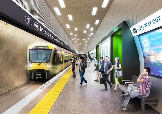 All aboard: City Rail Link construction begins | RNZ News