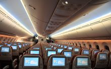 The Boeing 787-8 would not be able to use the runway at all for long-haul flights unless it was practically empty.