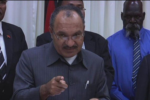Papua New Guinea prime minister Peter O'Neill still commands a strong majority support in the parliament.