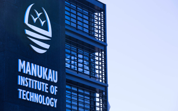 Exterior of the Manukau Institute of Technology