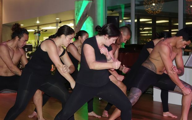 Dancers from Le Moaona dance and theatre company with their take on the Māori New Year.