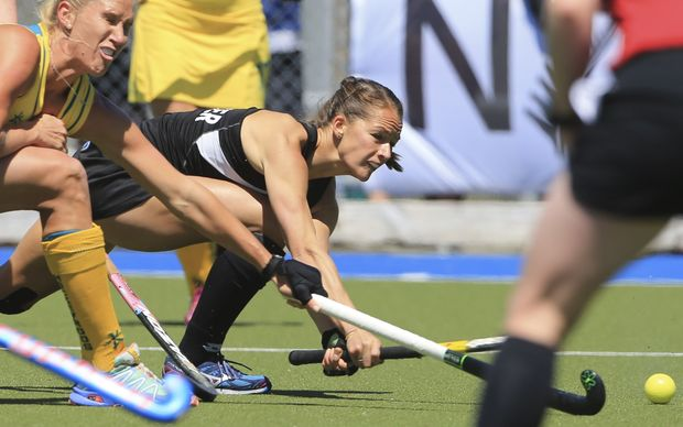New Zealand hockey player Petrea Webster.