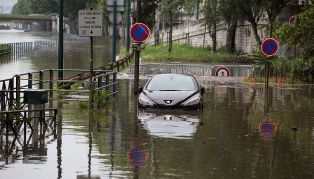 Paris is on alert this morning with floodwaters continuing to rise and the River Seine due to hit a peak six metres above normal.