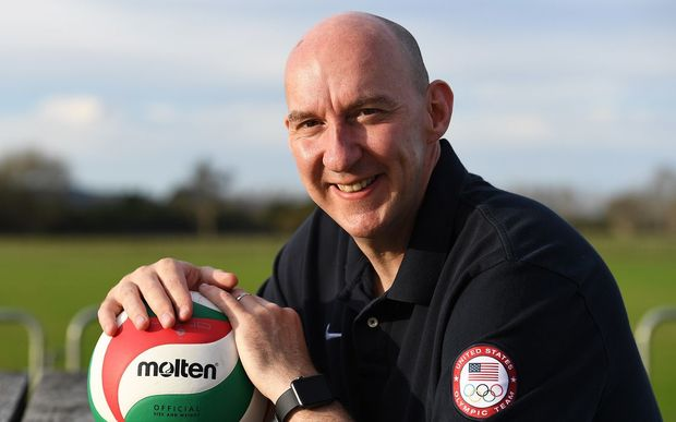 USA Olympic volleyball coach, New Zealander Hugh McCutcheon