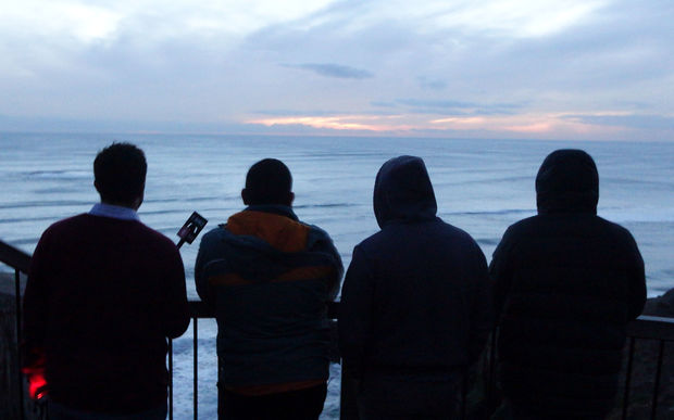 In Auckland, Mr Jaballah and a group of his friends were heading to Muriwai beach to spot the crescent which marks the beginning of Ramadan.