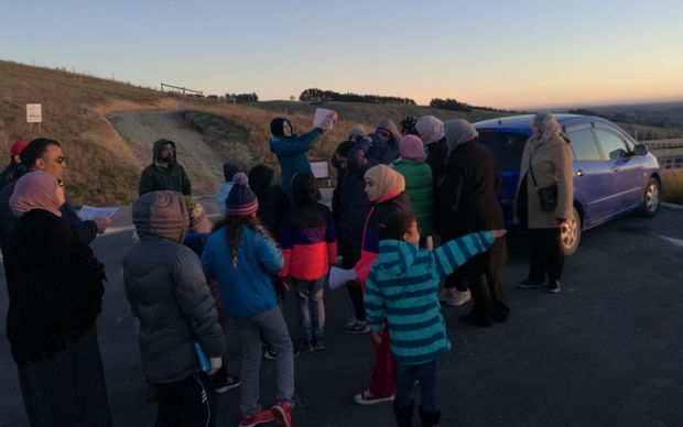 Muslims in Christchurch are the first in the country to sight the new moon.