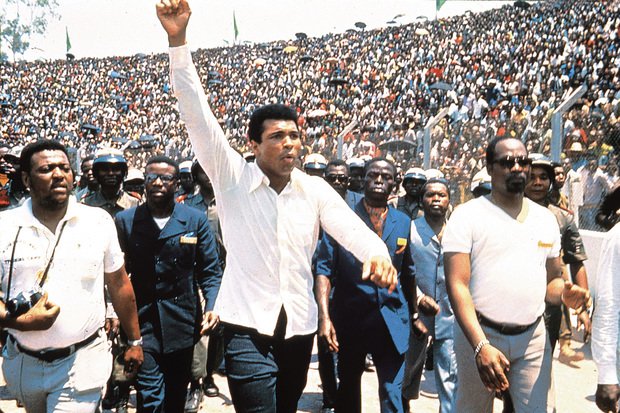 Muhammad Ali drums up support from the people of Kinshasa in When We Were Kings