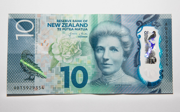 New Zealand 10 dollar note