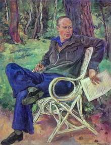 Portrait of Prokofiev 1934