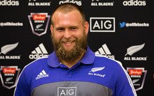 All Black Joe Moody speaks to media ahead of this weekends match against Wales. 9 June 2016.
