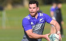 The All Blacks second-five Ryan Crotty.