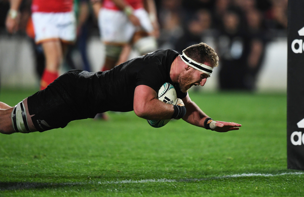 The All Blacks forged ahead of Wales, after trailing 21-18 after an hour and then Read popped up with the match-winning try.