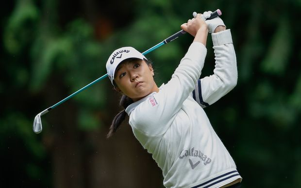Lydia Ko in action at the Women's PGA Championship