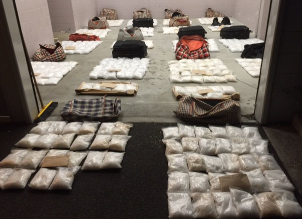 Northland Police have made a record seizure of methamphetamine - with an estimated street value of $438 million.