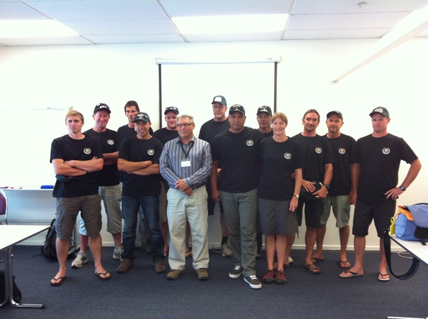 Two crews of rural firefighters and their manager flew out of Auckland for Tasmania on Wednesday afternoon.