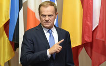 EU Council President Donald Tusk.