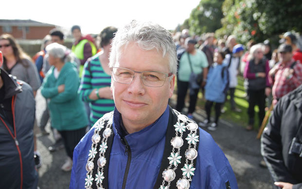 New Plymouth Mayor Andrew Judd