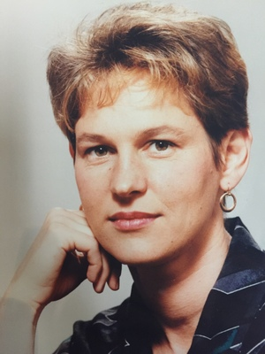 Eva Radich's first publicity shot, taken at Avalon Studios when she first joined the RNZ ranks
