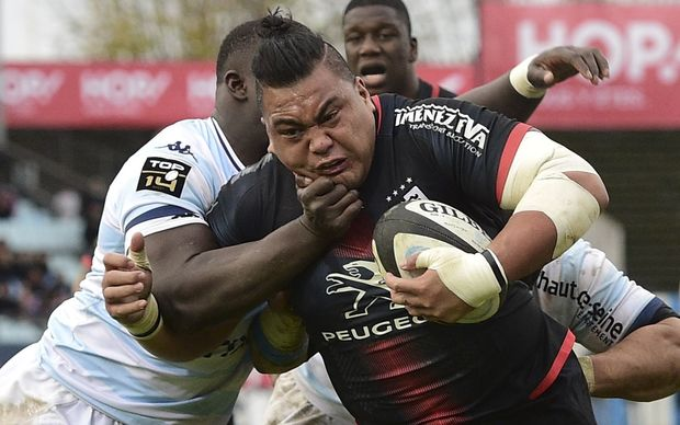 Census Johnston is back in the Manu Samoa squad after finishing his season with Toulouse.