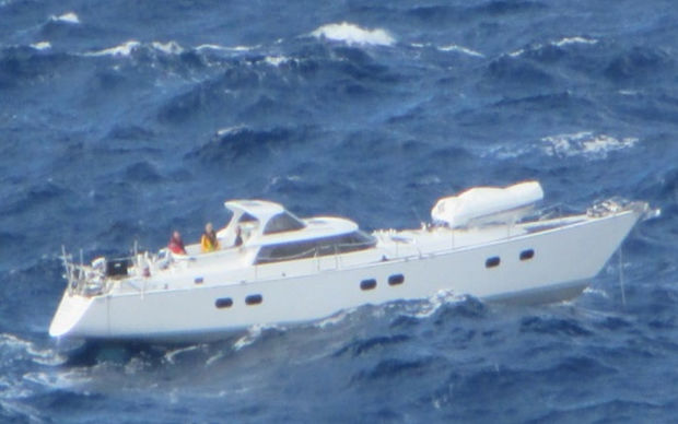 The surviving trio of the stricken yacht Platino are safely back in New Zealand and heaping praise on their rescuers.