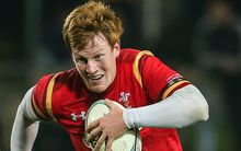 The Wales back Rhys Patchell.