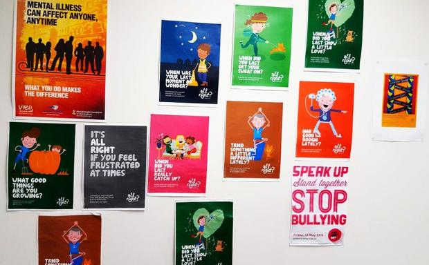 Mental Health Posters in Canterbury