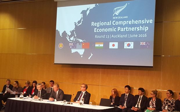 Talks on the Regional Comprehensive Economic Partnership (RCEP) were held in Auckland this week.