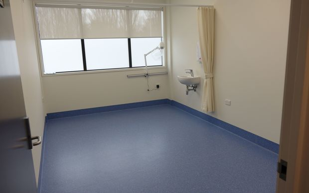 A room inside the health centre at the rebuilt Mangere Refugee Resettlement Centre.