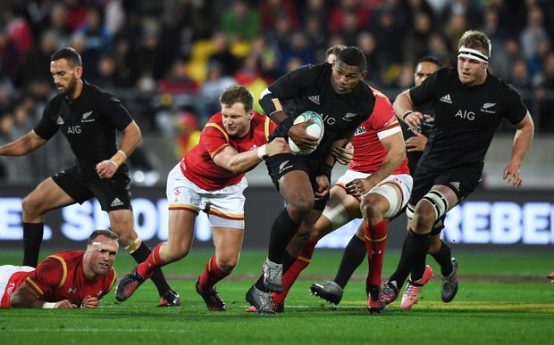 All Blacks vs Wales - second test in Wellington.