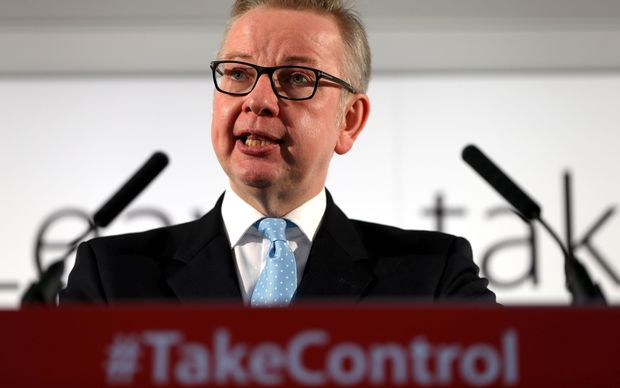 Leading Brexiteer Gove to run for Conservative leadership