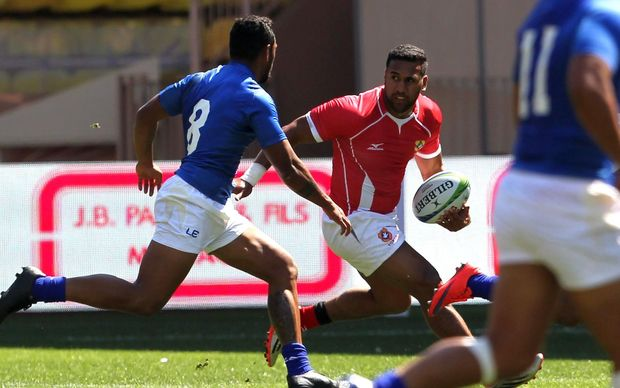 Former Wallabies winger Cooper Vuna was unable to inspire Tonga to success at the Monaco Sevens.