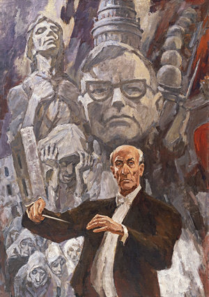 Mravinsky conducts Shostakovich's 7th Symphony in 1980