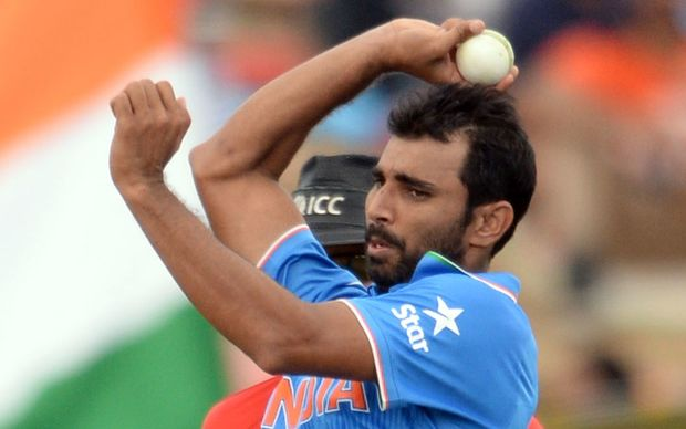 India pace bowler Mohammed Shami