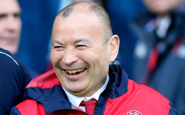 The England rugby coach Eddie Jones.