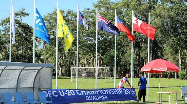 The OFC U-20 Preliminary is being held in Nuku'alofa.
