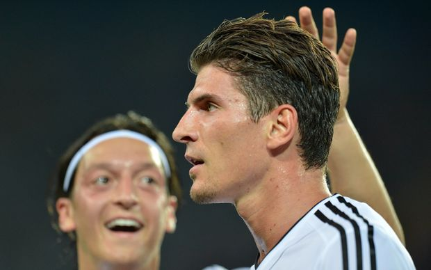 German footballer Mario Gomez.