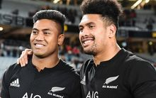 All Black players Julian and Ardie Savea.