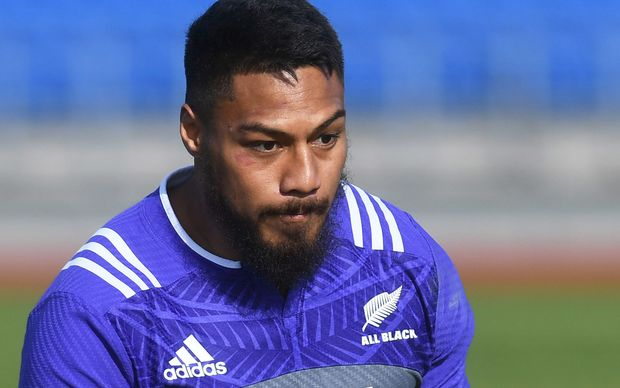 The All Blacks centre George Moala.