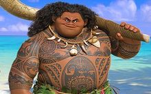 Disney's new hero Maui