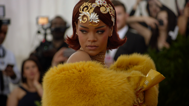 Rihanna at the the Met Ball