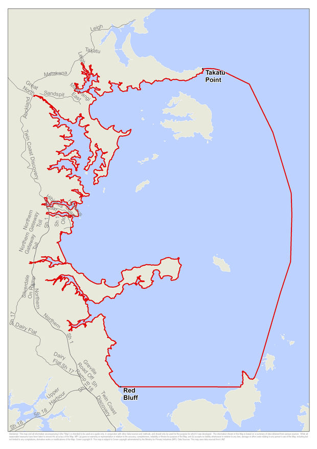 A potentially deadly shellfish toxin is spreading north of Auckland, and the Ministry for Primary Industries has extended its warning zone to include Campbells Bay.
