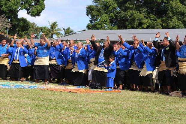 Celebrations at the 150th Anniversary of Tonga's oldest school, Tupou College.