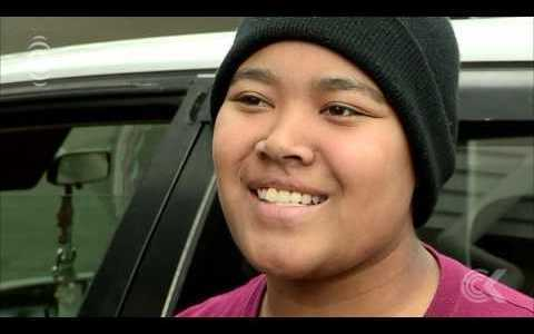 Homeless teenager with cancer moves to new home