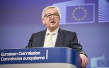 President of the European Commission Jean Claude-Juncker speaks to media after consultations over Britain's EU referendum at Commission headquarters in Brussels.