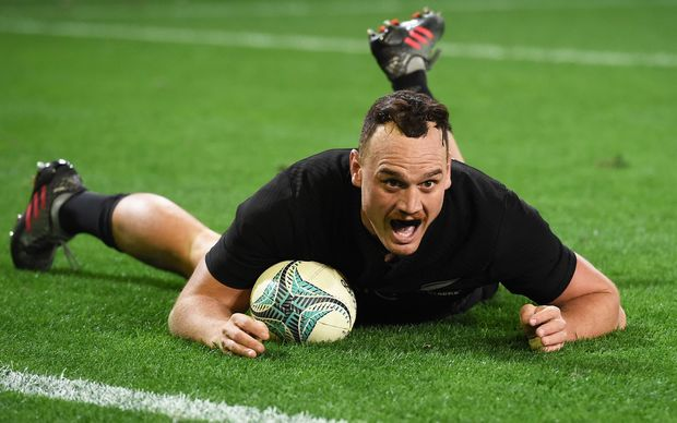 Israel Dagg scores against Wales 2016.